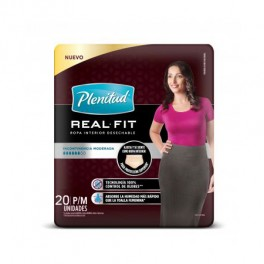Ropa Interior Plenitud Active FIT Mujer x 20